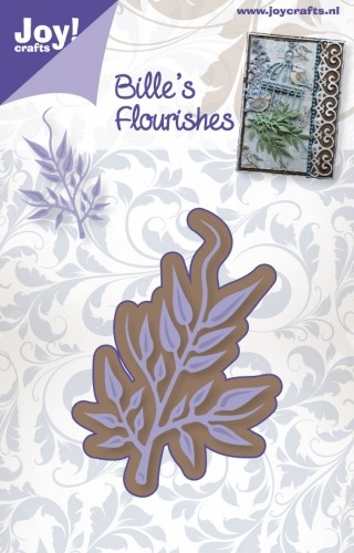 Joy! Crafts - Bille`s Flourishes tak 1