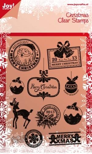 Joy! Crafts - Clearstamps Christmas Ho! Ho! Ho!