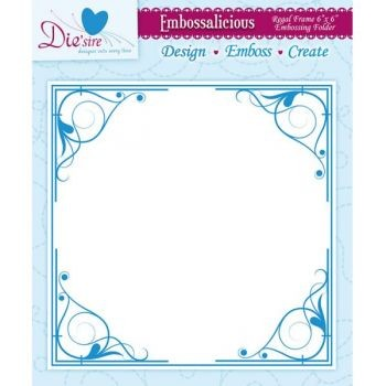 Crafter`s Companion - Embossalicious - Regal Frame 6
