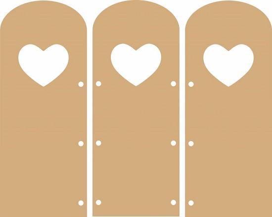 MDF - Let`s Get Bizzee - Harmonicaboekje hart