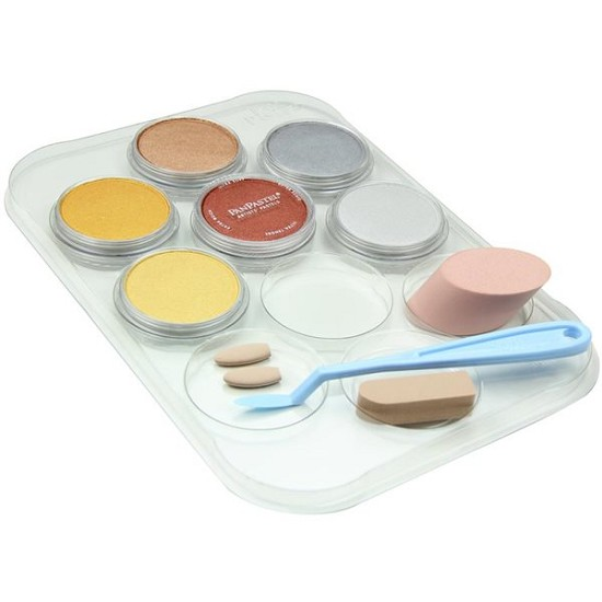 PanPastels - Metallic KIT - 6 col + tools