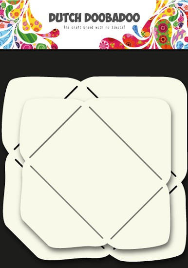 Dutch Doobadoo - Envelop stencil rechthoek
