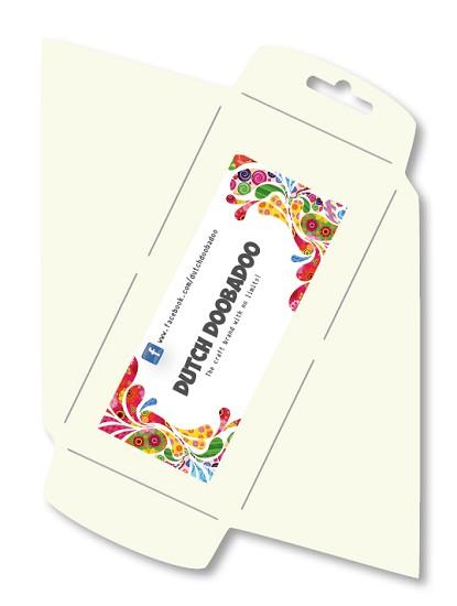 Dutch Doobadoo - Envelop stencil langwerpig