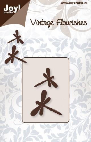 Noor! Design -  Vintage Flourishes - 2 libelles