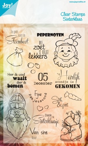 Joy! Crafts - Clearstamp Sinterklaas NL