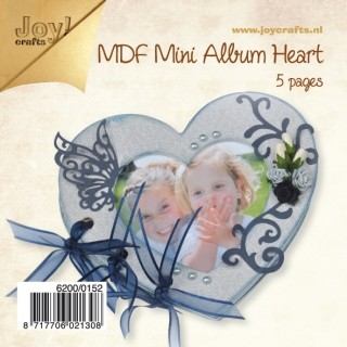 Joy! Crafts - MDF - mini album hart