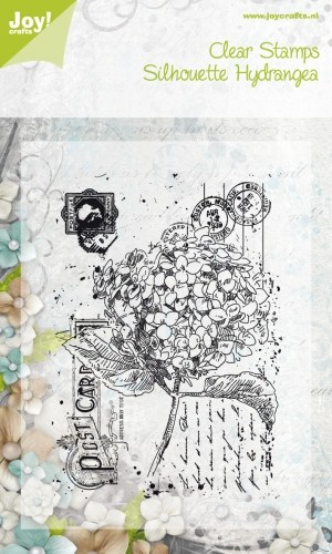 Noor! Design - Clearstamps Old Letter Hydrangea