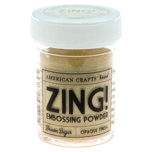 Embossingpoeder Zing! - Opaque Brown Sugar 1oz