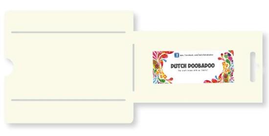 Dutch Doobadoo - Envelope stencil rechthoek lang