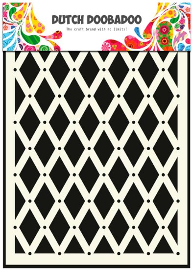 Dutch Doobadoo - Mask Art Stencils A5 - 018 Diamond