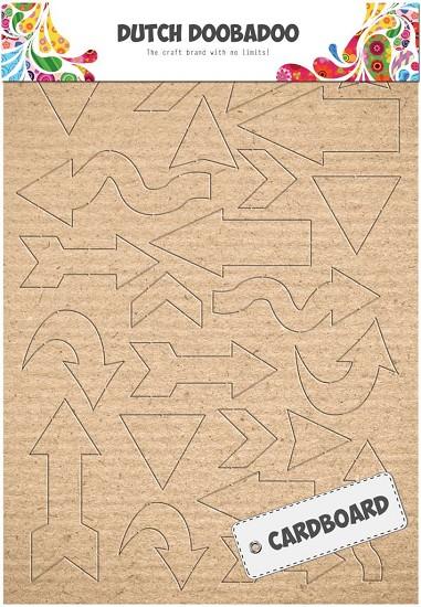 Dutch Doobadoo - Cardboard - Pijlen