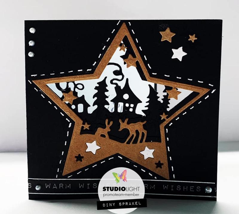 Studio Light - Cutting Stencil Layered Favourites - STENCILSL296 |  HobbyVision
