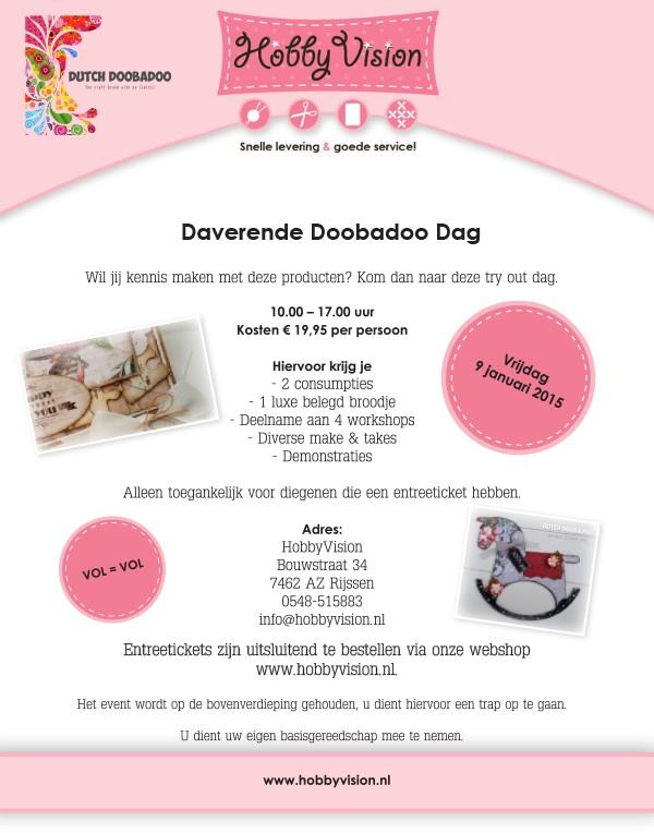 Daverende Doobadoo Dag - vrijdag 9 januari - Groot